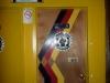 hallo berlin's men's room door
