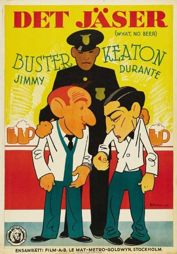 a 1933 talkie starring buster keaton and jimmy durante
